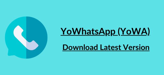 Download YOWhatsApp 8.65 APK Latest Version – (Anti BAN) 2021